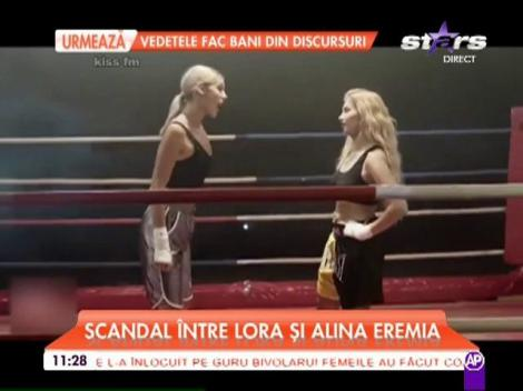 Lora şi Alina Eremia sunt la cuţite. Cele două artiste şi-au aruncat cuvinte grele