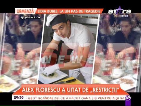 """Alex Florescu a uitat de """"restricţii""""! Antrenorul vedetelor şi-a făcut de cap"""
