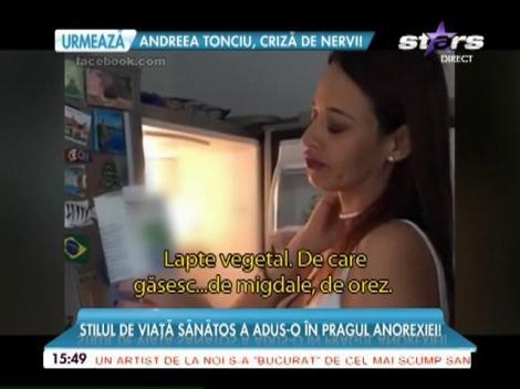 Andreea Raicu, în pragul anorexiei!