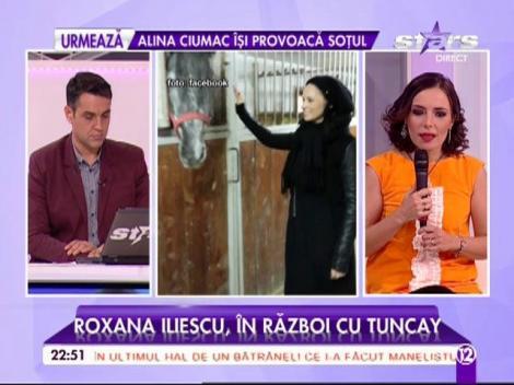Roxana Iliescu, cea mai bună prietenă a Andreei Marin, este în război cu Tuncay
