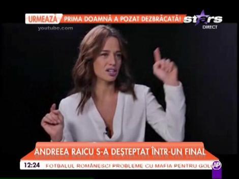 """Andreea Raicu: """"Am învăţat să nu mai grăbesc lucrurile"""""""