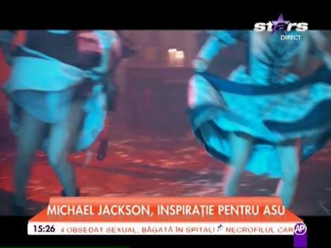 Michael Jackson, inspiraţie pentru Asu! Decor rupt din filmele de groază în noul său videoclip!