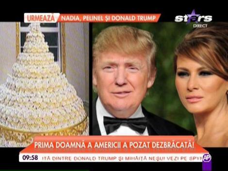 Melania Trump, prima doamnă a Americii, expertă în limbi străine