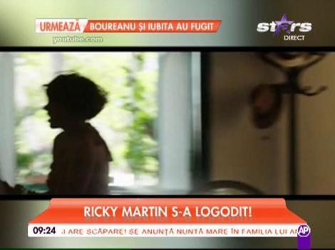 Ricky Martin s-a logodit cu iubitul lui, Jwan Yosef