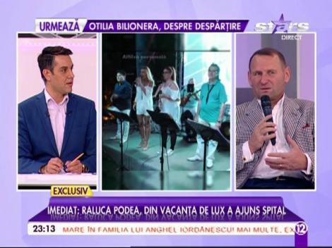 """Imagini exclusive de la """"turta"""" fetiţei lui Viorel Cataramă"""