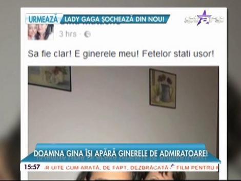 """Mama Deliei, mesaj pe Facebook pentru femeile cu ochii pe soţul juratei X Factor: """"Staţi uşor!"""""""