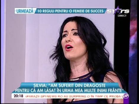 Silvia de la Vegas cântă ultima sa piesă, în platoul Răi da' buni