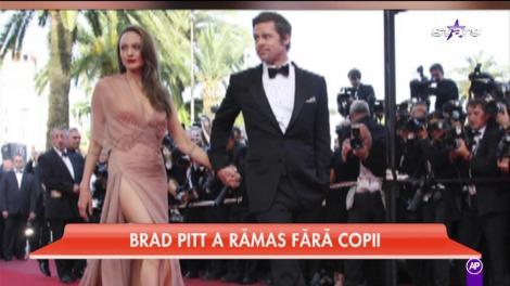 Brad Pitt a rămas fără copii! Angelina a primit toate drepturile de custodie