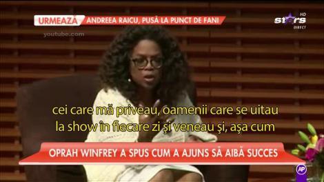 Oprah Winfrey, rețeta unei cariere în televiziune de succes