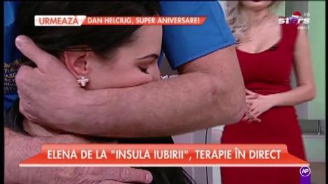 """Elena de la """"Insula Iubirii"""" a făcut terapie la coloană, în direct!"""