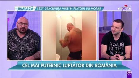 """Cel mai puternic luptător din România: """"Eram mai rău înainte, copiii m-au înmuiat"""""""