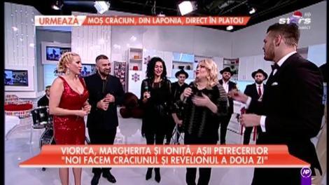 Margherita, Viorica și  Ioniță de la Clejani, show la Star Matinal
