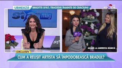 """Agitaţie mare acasă la Andreea Bănică: """"Totul am făcut singură!"""""""