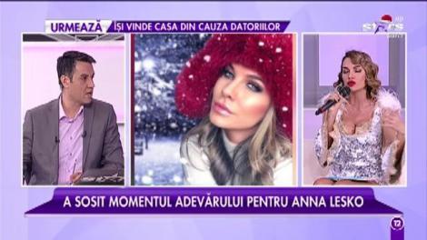 Testul pentru Moș Crăciun! Anna Lesko răspunde la întrebările lui Cristi Brancu