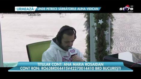 VIDEO: Mihai Morar a început să plângă în direct! Scrisoarea către Moș Crăciun a unei mame care a aflat că băiețelul ei are cancer