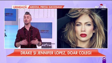 Jennifer Lopez şi Drake, doar colegi