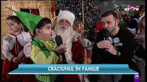 """Luca, băiețelul care a făcut senzație la """"Next Star"""" își dorește de la Moș Crăciun o dronă"""