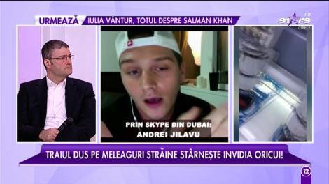 """Andrei Jilavu: """"Multe românce lucrează ca și hostess în Dubai"""""""