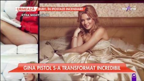 Gina Pistol s-a transformat incredibil