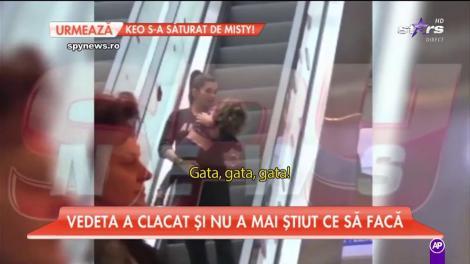 Elena Băsescu, scandal uriaș la mall! Toată lumea a văzut scenele cu bruneta!