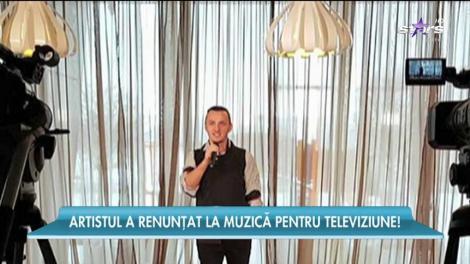 Mihai Trăistariu a renunțat la muzică pentru televiziune. Are propria emisiune TV