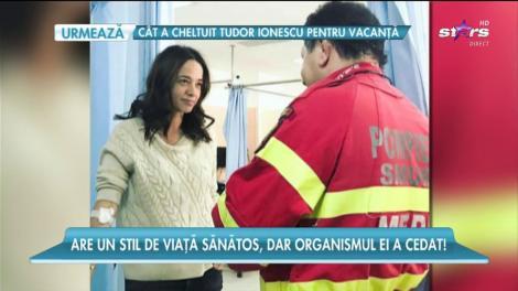 Andreea Raicu a ajuns de urgenţă la spital!