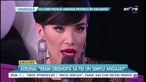 Cu dresuri plasă şi decolteu generos! Adelina Pestriţu, într-un OUTFIT HOT-HOT la TV!