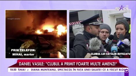 "Mihai, martor din clubul Bamboo ""Incendiul a izbugnit în Ballroom"""