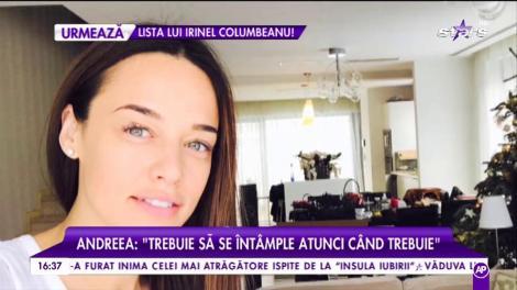 Andreea Raicu iubește din nou și are planuri de măritiș
