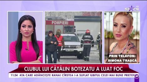 Simona Trașcă, martoră la incendiul din clubul Bamboo