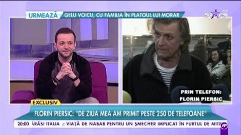 """La mulți ani, Florin Piersic! """"E frumoasă bătrânețea, dar trece cam repede!"""""""