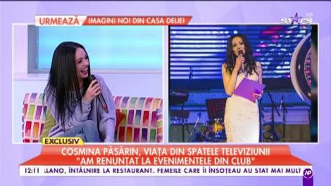 """Cosmina Păsărin, viața din spatele televiziunii. """"Eu sunt o femeie sensibilă, mă îndrăgostesc foarte tare"""""""