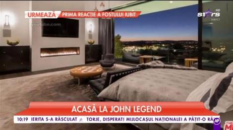 Cum arată casa celebrului cântăreț, John Legend