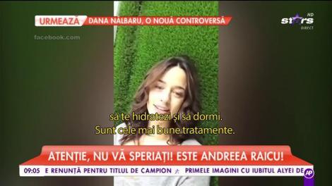 Apariția dezastruasă a Andreei Raicu pe care i-a uimit până și pe paparazzii