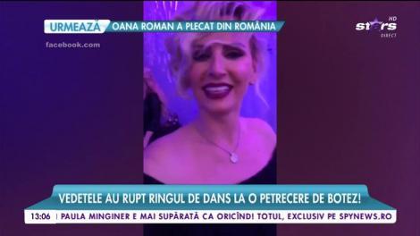 VIDEO! Cum arată o distracție între vedete?! Andreea Bănică și Pepe au încins atmosfera pe ritmuri orientale la un botez