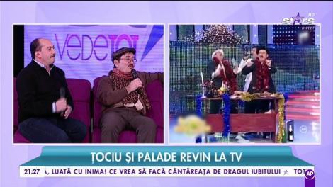 Cornel Palade și Romică Țociu vor prezenta Uniplay Show