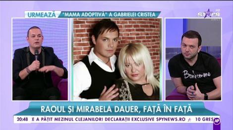 Raoul și Mirabela Dauer, o prietenie terminată cu un mare scandal