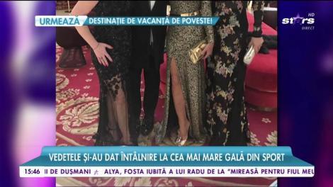 Brigitte Năstase şi Nadia Comăneci, cină în companie selectă