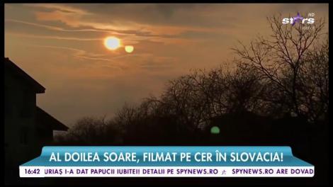 Al doilea soare, filmat pe cer în Slovacia!