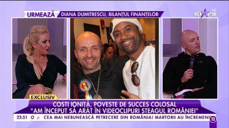 """Costi Ioniță, un artist de renume și un patriot adevărat. Nu îi este rușine cu originile sale: """"Am început să arăt în videoclipuri steagul României"""""""