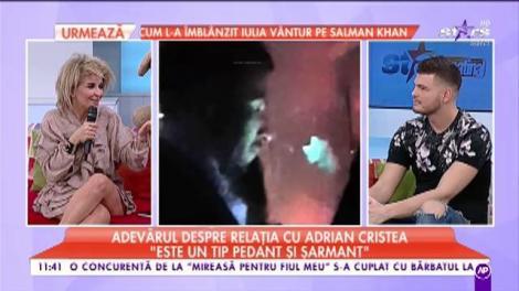 Maria Păuna descrie noaptea alături de Adrian Cristea