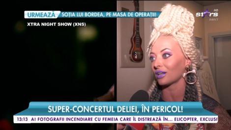 Delia s-a accidentat la repetițiile show-ului Psihedelia