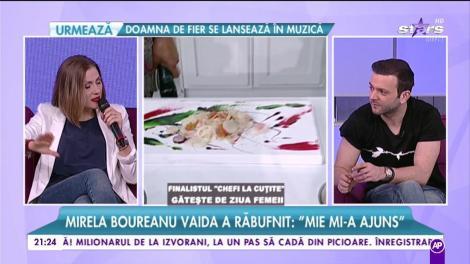 """Mirela Boureanu Vaida, despre emisiunea """"Mireasă pentru fiul meu"""": """"Patru ore de conflicte pe zi era prea mult pentru mine. Plecam acasă istovită, din toate puncte de vedere"""""""