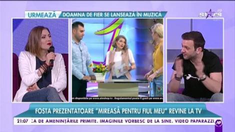 """Mirela Boureanu Vaida: """"Mi se impută că am trădat emisiunea Mireasă pentru fiul meu. Nu a depins de mine... Este o perioadă foarte sensibilă"""""""