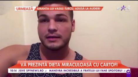 Răzvan Botezatu vrea să slăbească! Prezentatorul a recurs la dieta miraculoasă cu cartofi