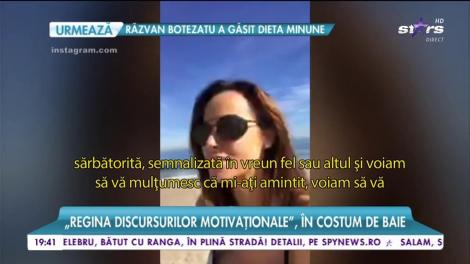 Andreea Raicu a sărbătorit ziua femeii departe de casă!