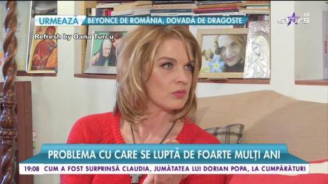 Manuela Hărăbor, problema cu care se luptă de foarte mulți ani