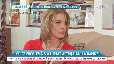 Unul din cele mai mari secrete ale Manuelei Hărăbor! Cu ce problemă s-a luptat actrița?