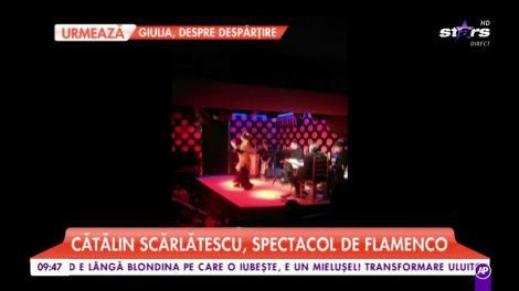 """Chef Cătălin Scărlătescu, spectacol de flamenco! """"Te duci la flamenco atunci când ești îndrăgostit sau suferi din dragoste"""""""