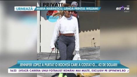 Jennifer Lopez a purtat o rochiță care a costat doar... 42 de dolari! A câștigat sute de milioane de dolari, dar se îmbracă ieftin!